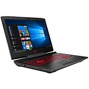 "HP Omen 17-an081no 17,3"" bærbar gaming-PC (sort)"