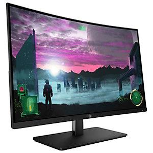 """HP 27x välvd 27"""" gaming bildskärm (svart)"""