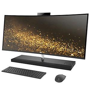 """HP Envy 34-b010no 34"""" alt-i-1 stasjonær PC (grå)"""