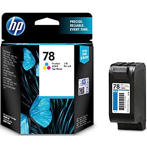 HP 78 mustekasetti (kolmiväri)