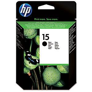 HP 15 mustekasetti (musta)