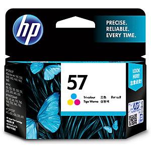 HP 57 kolmiväripatruuna