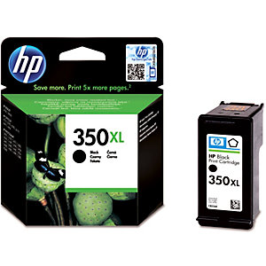 HP 350 XL mustekasetti (musta)