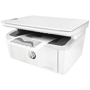 HP LaserJet Pro M28w mono AIO laserskriver (hvit)