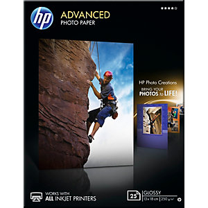 HP Advanced valokuvapaperi 13x18cm