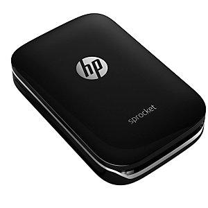 HP Sprocket fotoprinter til mobil (sort)