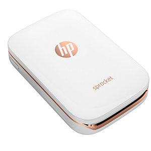 HP Sprocket fotoprinter til mobil (hvit)