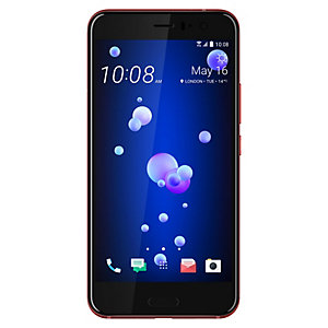 HTC U11 smartphone (röd)