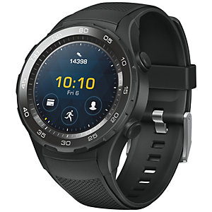 Huawei Watch W2 smartklokke Bluetooth-versjon (sort)
