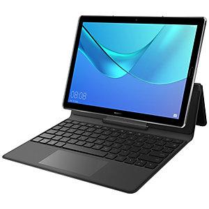 Huawei MediaPad M5 skinndeksel med tastatur (grå)
