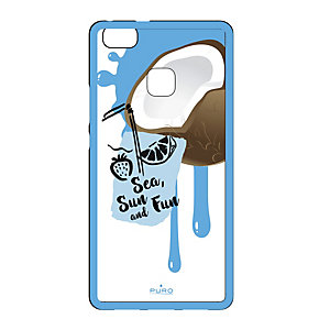 Puro Huawei P9 Lite summer juice fodral (kokosnötblå)