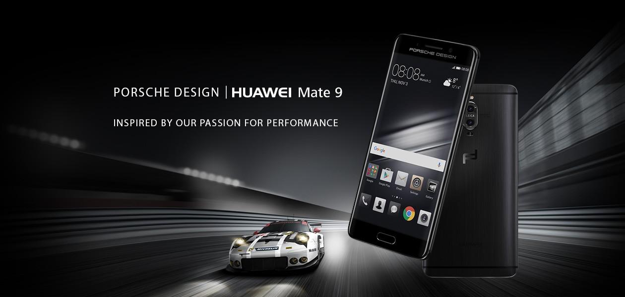 Porsche Design Huawei Mate 9 - det perfekte match