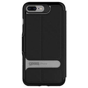 GEAR4 D3O Oxford iPhone 7+/8+ skal (svart)