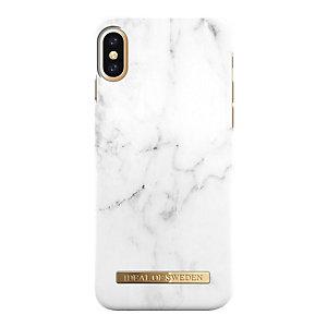 iDeal fashion iPhone X kuori (valkoinen marmori)