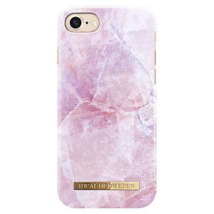iDeal Fashion iPhone 7 suojakuori (pinkki marmori)