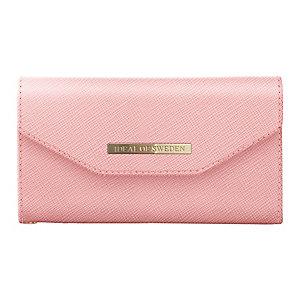 iDeal Mayfair clutch iPhone X lompakkokotelo (pinkki)
