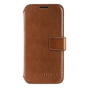 iDeal STHLM lommebokdeksel for iPhone X (brun)