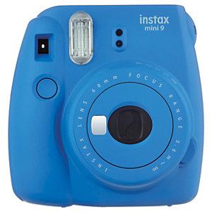 Fujifilm Instax mini 9 kompaktkamera (koboltblå)