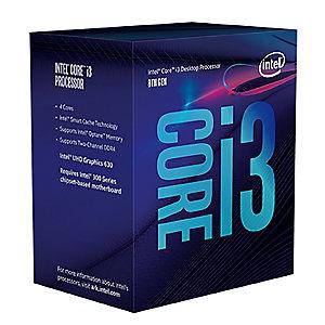 Intel Core i3-8100 prosessor (boks)