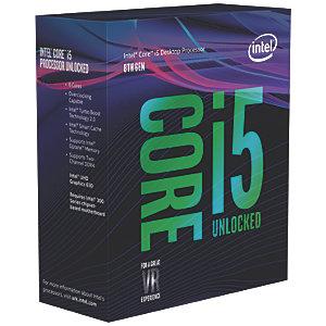Intel Core i5-8600K processor (box)