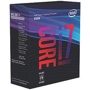 Intel Core i7-8700K prosessor (boks)