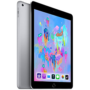 iPad (2018) 32 GB WiFi + mobildata (space gray)