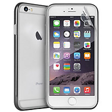 Puro iPhone 6 Soft touch Bumper fodral (svart) 06145f4b78c74
