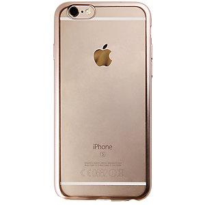 Puro Fodral iPhone 6/6s TPU satäng-ram (guld)