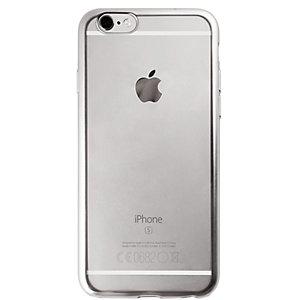 Puro Fodral iPhone 6/6s TPU satäng-ram (silver)