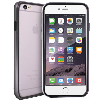 Puro Metallic suojakuori iPhone 6/6S Plus (hopea) - Kotelot ja suojakuoret - Gigantti