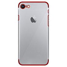 Puro iPhone 7 8 verge kristallskal (silver) b2395b744717b