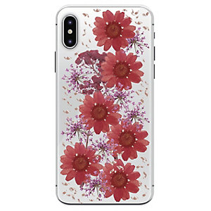 Puro Hippe Chic Fall deksel for iPhone X (rød)