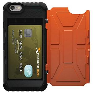 UAG kortfodral iPhone 7/6S (orange,svart)