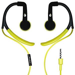 PuroSport Stereo in-ear-hodetelefoner (grønn)