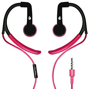 Puro Sport Stereo in-ear-hodetelefoner (rosa)