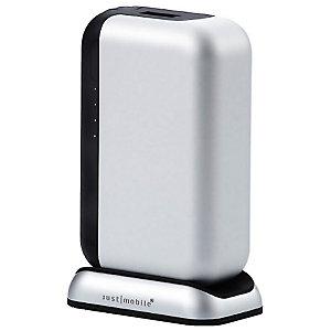 Just Mobile TopGum powerbank 6000 mAh (silver)
