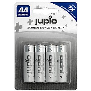 Jupio Li-ion AA-batterier (4 stk.)