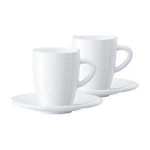 JURA kaffekopp med tefat 66499