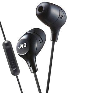 JVC Marshmallow HA-FX38M in-ear hörlurar (svart)