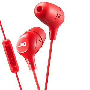 JVC Marshmallow HA-FX38M in-ear hörlurar (röd)