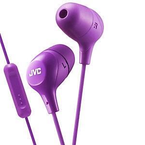 JVC Marshallow HA-FX38M  in-ear hodetelefoner (lilla)