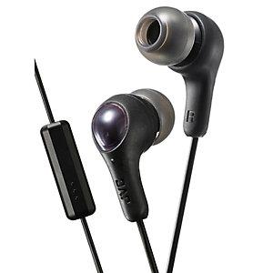 JVC Gumy Plus in-ear hodetelefoner (sort)
