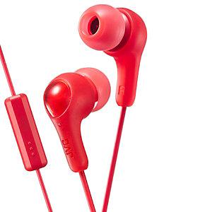 JVC Gumy Plus in-ear kuulokkeet (punainen)