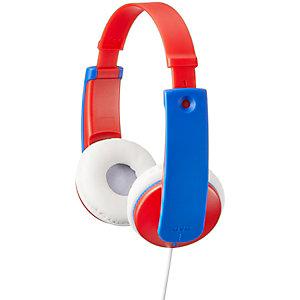 JVC HA-KD7 lasten on-ear kuulokkeet (punainen)