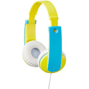 JVC HA-KD7 lasten on-ear kuulokkeet (keltainen)
