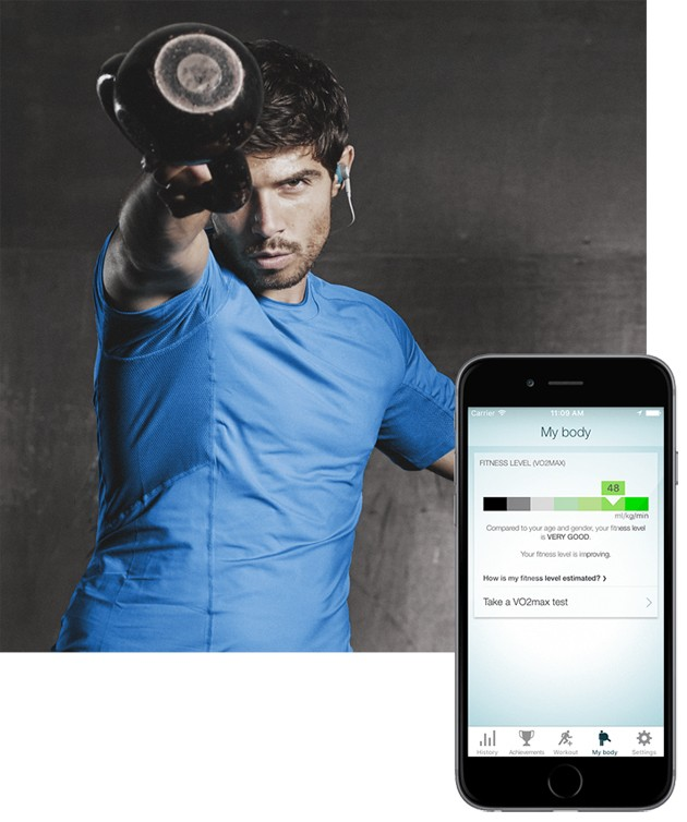 Jabras Sport Life-app