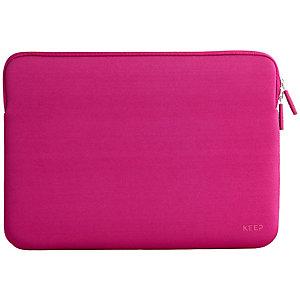 """Keep fodral till laptop 13,3"""" neopren (rosa)"""