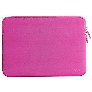 """KEEP 13"""" Laptop neoprenefodral (rosa)"""