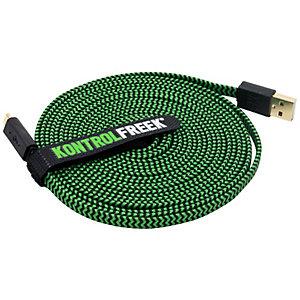 KontrolFreek USB gaming kabel (grön/svart)