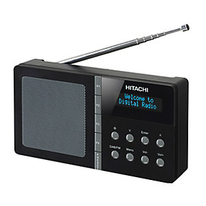Hitachi DAB/DAB+/FM-Radio KHD101E (svart)